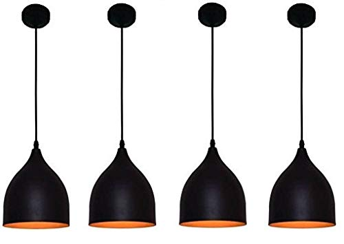 Buy Je Quality Is Our Motto 4bal004 Ceiling Hanging Light Black Online At Low Prices In India Amazon In
