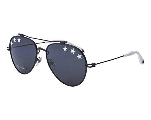 Givenchy Women's Stars Aviator Sunglasses, Black/Grey Blue, One Size -