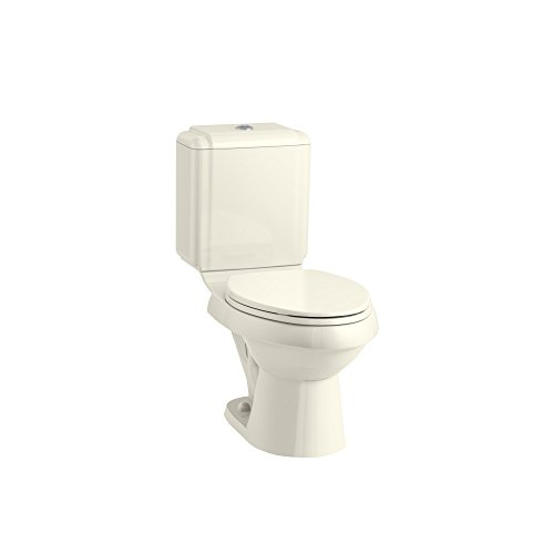 KOHLER K-4774-96 Brevia with Quick-Release Hinges Elongated Toilet Seat, Biscuit