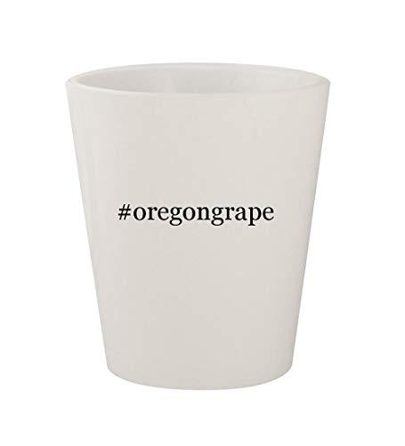 #oregongrape - Ceramic White Hashtag 1.5oz Shot Glass