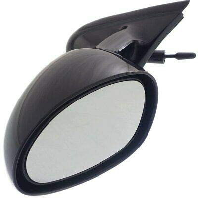 Manual Remote Mirror For 1995-2000 Chrysler Cirrus Driver Side Paint To Match ()