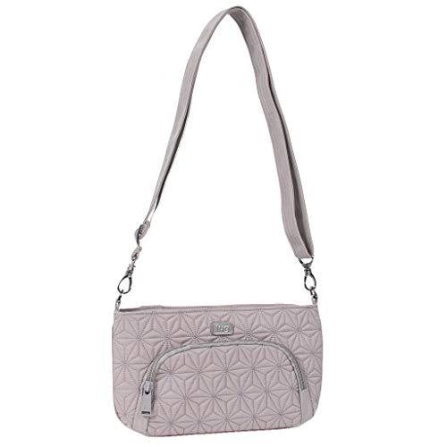 Lug Women's Flyer Mini Cross-Body Bag, Pearl Grey, One -