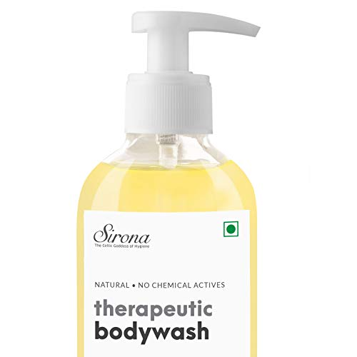 Sirona Natural Anti Fungal Therapeutic Body Wash to Reduce Body Odor, Ithing – 200 ml with with Natural pH Balanced…