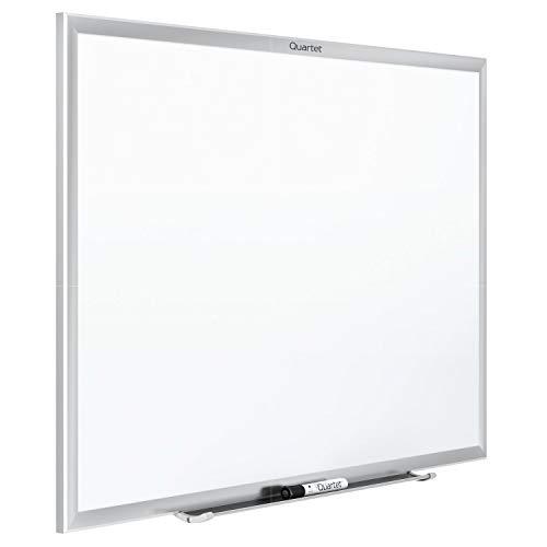 Quartet Standard Magnetic Whiteboard, 4 x 3 Feet, Silver Aluminum Frame (SM534)