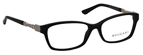 Occhiale da vista Bulgari BV4061B 501 nero black eyeglasses sehbrille donna, 54-16