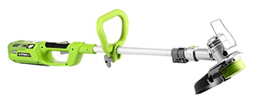 Earthwise LST04012 12-Inch 40-Volt Cordless Electric String Trimmer, 2Ah Battery & Charger Included