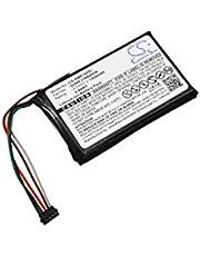CS-GME100SL Baterie 1200mAh compatibel met [GARMIN] 010-01161-00, Edge 1000 vervangt DI44EJ18B60HK