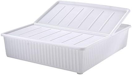 IKEA Dilling - caja de almacenamiento de cama, blanco - 77x70 cm: Amazon.es: Hogar