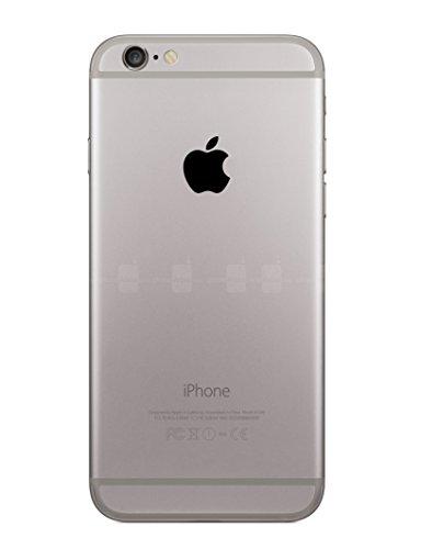 Black Apple Logo Overlay Vinyl Decal - For iPhone 6,Plus,5s,5c