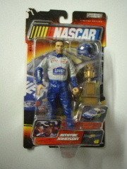 Jimmie Johnson #48 Lowes Jakks Pacific Road Champs Action Figure Approximately 6 Inches Tall With Helmet & Plastic Trophy 2003 Edition (Trophy Figures Plastic)