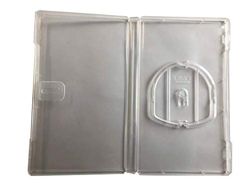(New MegaDisc Premium 5 Crystal Clear Playstation PSP Replacement UMD Cases)