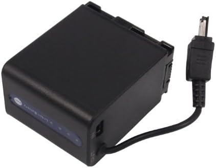 GZ-HD500BUS BN-VG121US 3000mAh Battery Replacement for JVC GZ-HD500 P//N BN-VG121 BN-VG121SU BN-VG121U GZ-HD620BAH GZ-HD500U GZ-HD620