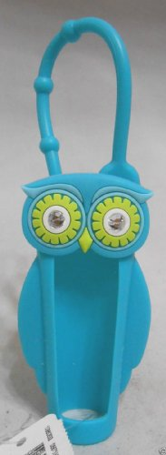 Bath & Body Works Lip Gloss Holder Teal Owl