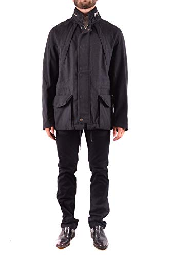 Marc Jacobs Men's Mcbi31847 Black Wool Outerwear Jacket