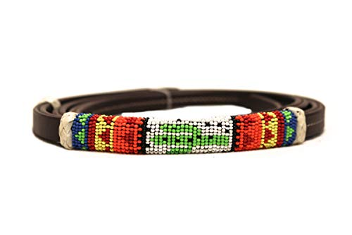 (M-Royal Southwest Cactus Beaded Over/Under Whip)