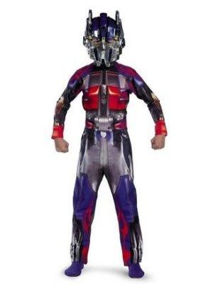 Amazon Prime Halloween Costumes.Amazon Com Transformers Optimus Prime Halloween Costume Husky Size