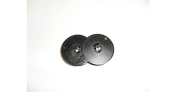 Underwood 310, 315, 319 y 378 Cinta de máquina de Escribir, Color Negro y Rojo, Compatible, Doble Bobina: Amazon.es: Oficina y papelería