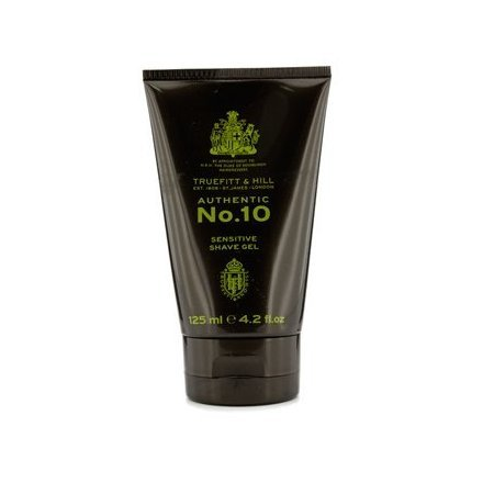 Authentic No.10 Sensitive Shave Gel 125ml/4.2oz Truefitt & Hill