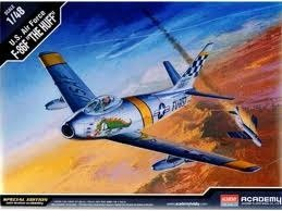 F-86F The Huff Sabre Jet 1/48 Academy