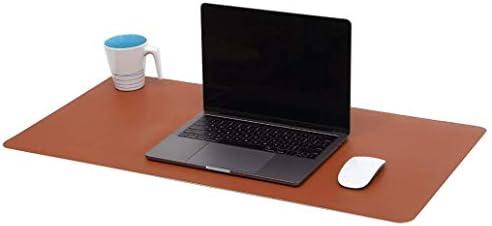 Multifunktionale Schreibtischunterlage, extra dünn, wasserdicht, PU-Leder, Mauspad, für Büro/Zuhause 70 x 45 cm (Himmelblau)