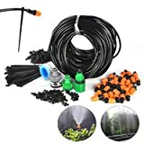 System Water Manual control Sprinkler Watering Kit Watering System Kits for Flower 25M DIY 30x Irrigation