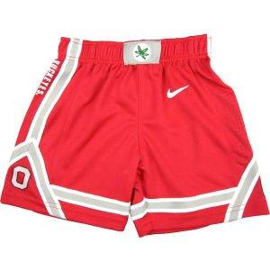 Nike Ohio State University Toddler Basketball Shorts (Ohio Athletic Shorts)