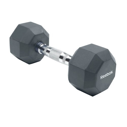Reebok Rubber Hex Dumbbell