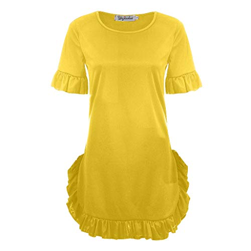 HongMong Sexy Leisure Solid Color Pleated Women
