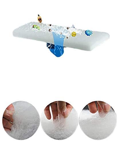 DESPACITO® 7Pcs Aquarium Sponge Filter for Biochemical Cotton Reusable Foam, Washable Carbonized Sponge Mat Suitable for Sea Water and Fresh Water