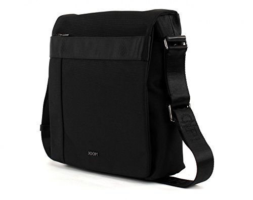 JOOP! Darius Pure Nylon Flap Bag Medium Black