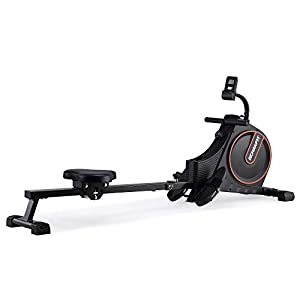 Well-Being-Matters 31OuorVqQXL._SS300_ ECHANFIT Magnetic Rower Rowing Machine for Home Use Foldable w/16 Level of Quiet Magnetic Resistance with LCD Monitor…