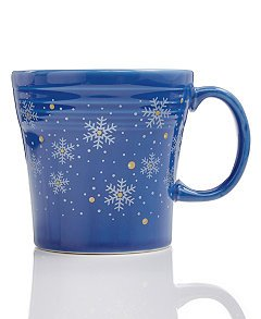 - Fiesta 15 0z. Tapered Mug, Snowflake