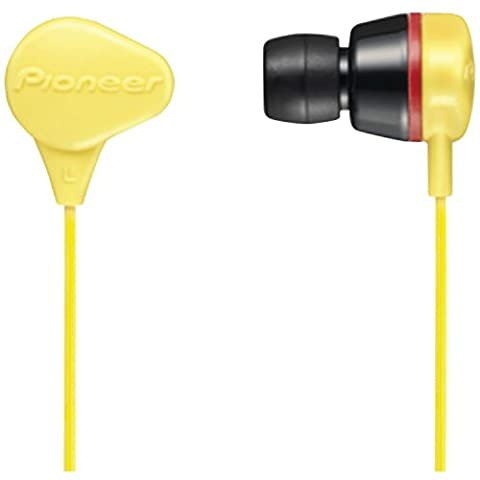 Pioneer SE-CL331-Y Headphones, Yellow (Discontinued by Manufacturer) (Pioneer Noise Cancelling)