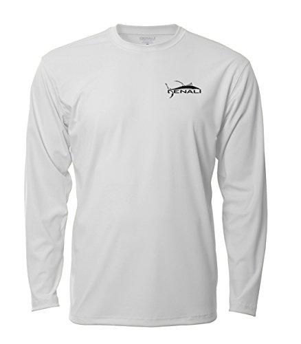 Water Logo Tee - Denali Performance Men's teaser-Tournament UPF 50+ ProtectUV Mega Solar Long Sleeve T-Shirt With Logo