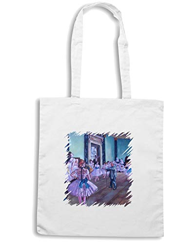 DI Bianca LEZIONE DEGAS136 Borsa DANZA Speed Shopper TDA0006 Shirt ta0wW4gq