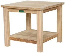 Anderson Teak Square 2-Tier Side Table
