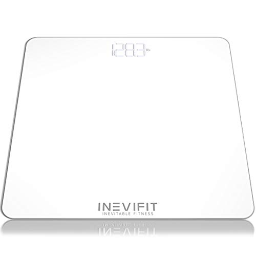 Ann Scale - INEVIFIT Bathroom Scale, Highly Accurate Digital Bathroom Body Scale, Measures Weight for Multiple Users. Includes a 5-Year Warranty