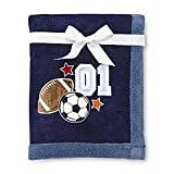 Nojo Baby Blanket, High Five - Sports - Soccer , Football