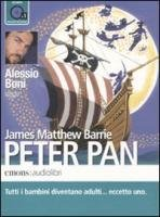 Peter Pan letto da Alessio Boni. Audiolibro. CD Audio formato MP3 James Matthew Barrie