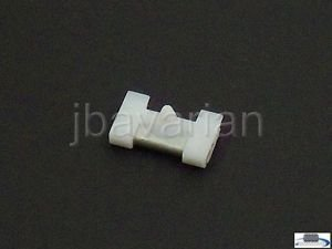 5 Genuine BMW Windshield Molding Clips E38 7 Series - Genuine Molding Clip