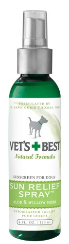 Vet's Best Sun Spray Sunscreen for Dogs, 4oz