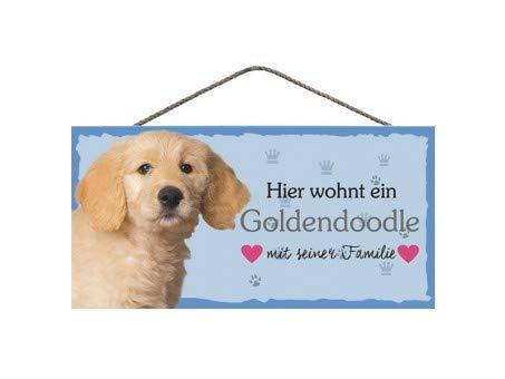 Cartel para Puerta Frontal con Texto en alemán Hier wohnt ...