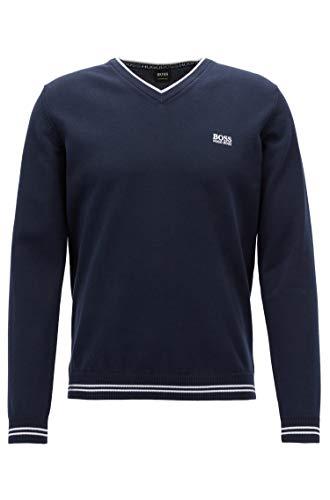 Hugo Boss Men's Sweater (L, Navy) from Hugo Boss