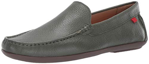 - Marc Joseph New York Mens Genuine Leather Made in Brazil Broadway Loafer, Olive Grainy, 13 D(M) US