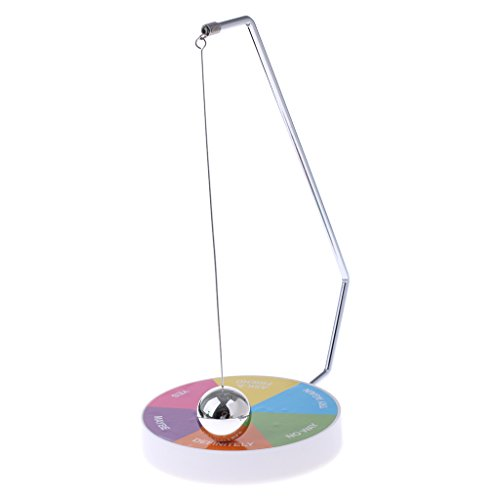 Dovewill ステンレス鋼 プラスチック製 オフィス おもちゃ 置物 意思決定者 磁気振り子 楽しい エグゼクティブ 魔法のノベルティ 4色選択 - #3