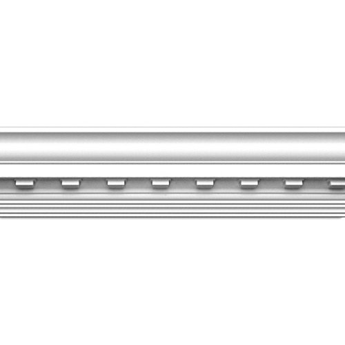 Focal Point Moulding - Focal Point 23130 4 1/8-Inch Concord Dentil Crown Moulding 4 1/8-Inch by 8 Foot, Primed White, 8-Pack