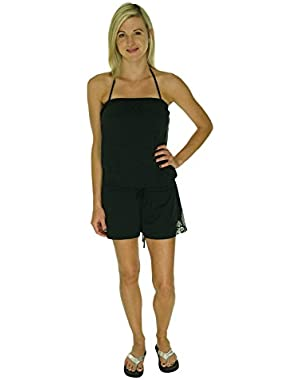 Women's Moroccan Love Romper Swim Cover Up