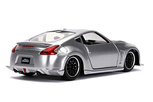 Jada Toys Fast & Furious 2009 Nissan 370Z 1:32 Scale Die-cast Vehicle, Silver 2