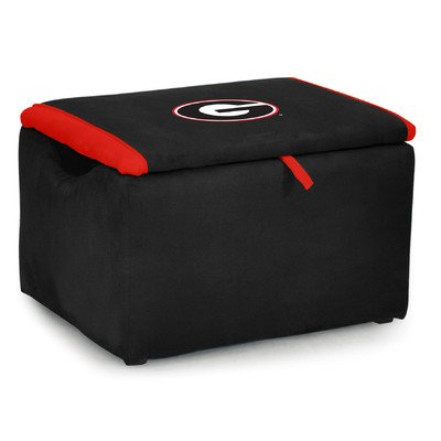 Kidz World Upholstered Storage Bench Toy Box University of Georgia by Kidz World