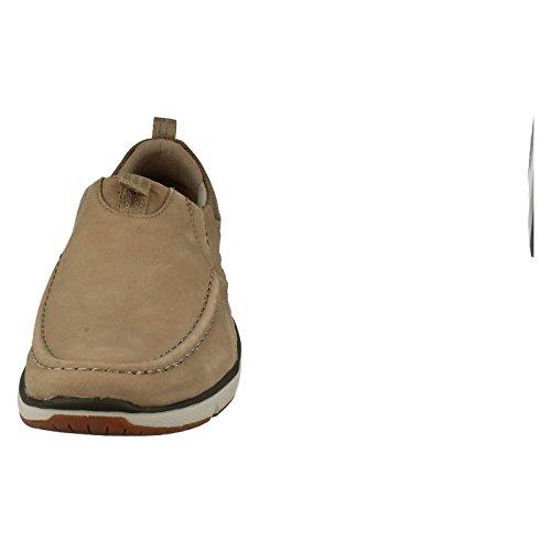 Clarks Mens Moccasin Style Casual Slip On Shoes Orson Row Sand pKlsAV